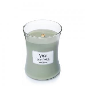 Lumanare Parfumata Borcan Mediu Applewood, WoodWick®