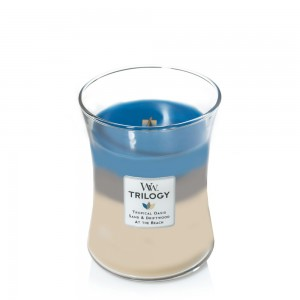 Lumanare Parfumata Borcan Mediu Trilogy Nautical Escape, WoodWick®