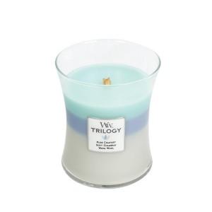 Lumanare Parfumata Borcan Mediu Trilogy Woven Comforts, WoodWick®