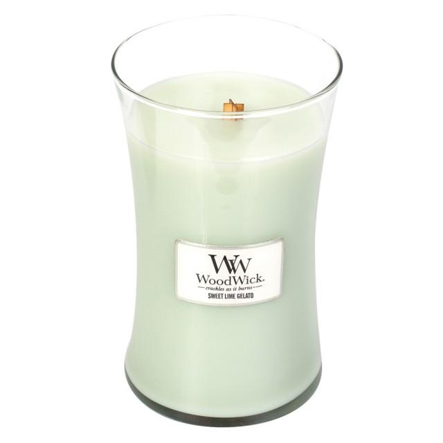Lumanare Parfumata Borcan Mare Sweet Lime Gelato, WoodWick®