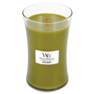 Lumanare Parfumata Borcan Mare Apple Basket, WoodWick®