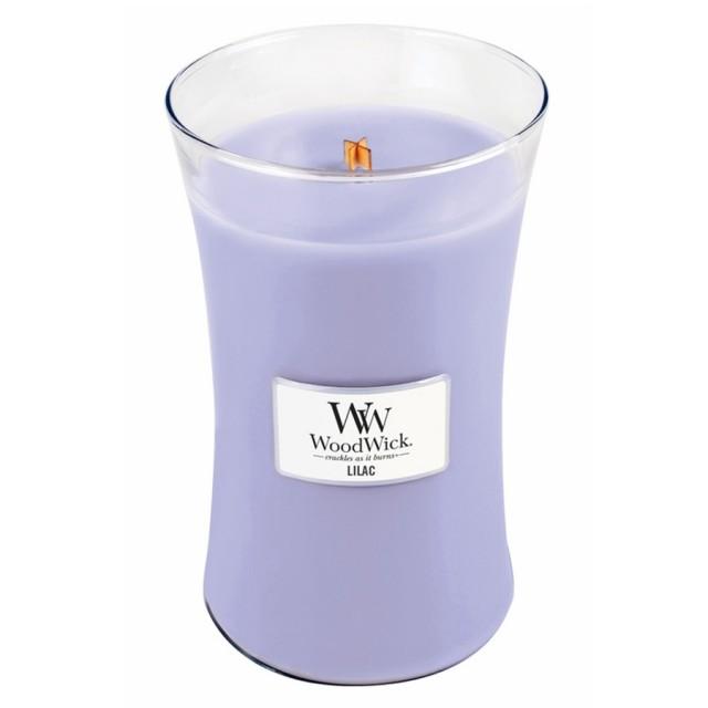 Lumanare Parfumata Borcan Mare Lilac, WoodWick®