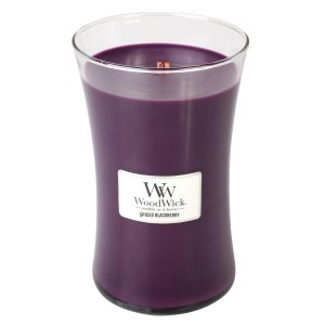 Lumanare Parfumata Borcan Mare Spiced Blackberry, WoodWick®