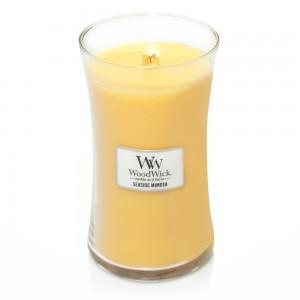 Lumanare Parfumata Borcan Mare Seaside Mimosa, WoodWick®