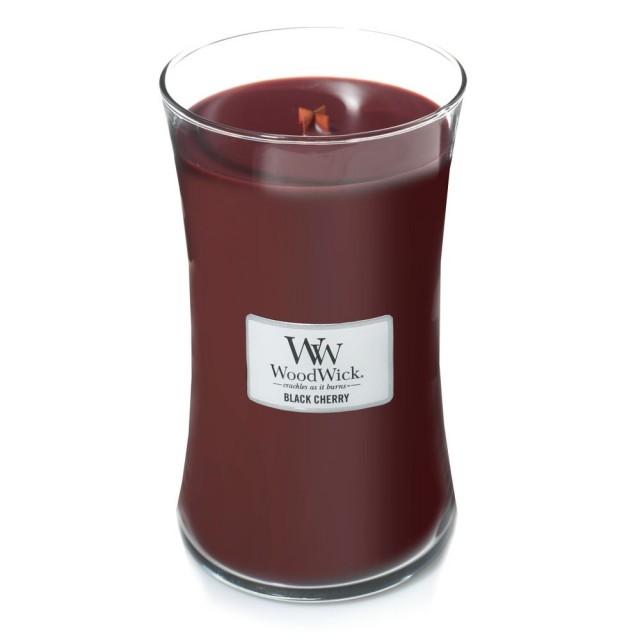 Lumanare Parfumata Borcan Mare Black Cherry, WoodWick®