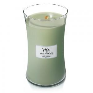 Lumanare Parfumata Borcan Mare Applewood, WoodWick®