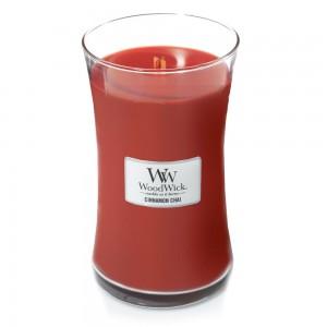 Lumanare Parfumata Borcan Mare Cinnamon Chai, WoodWick®