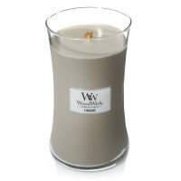 Lumanare Parfumata Borcan Mare Fireside, WoodWick®