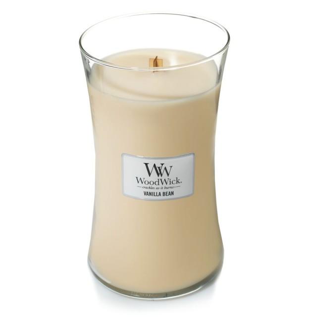 Lumanare Parfumata Borcan Mare Vanilla Bean, WoodWick®