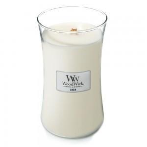 Lumanare Parfumata Borcan Mare Linen, WoodWick®