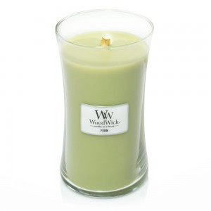 Lumanare Parfumata Borcan Mare Fern, WoodWick®