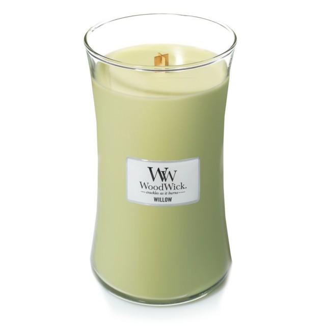 Lumanare Parfumata Borcan Mare Willow, WoodWick®