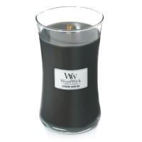 Lumanare Parfumata Borcan Mare Evening Bonfire, WoodWick®