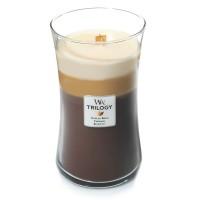 Lumanare Parfumata Borcan Mare Trilogy Café Sweets, WoodWick®