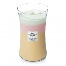 Lumanare Parfumata Borcan Mare Trilogy Summer Sweets, WoodWick®