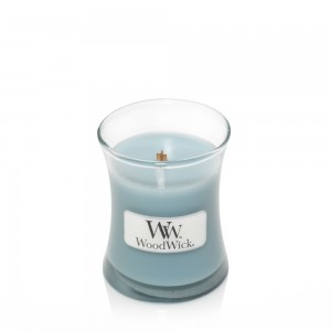 Lumanare Parfumata Borcan Mic Sea Salt & Cotton, WoodWick®