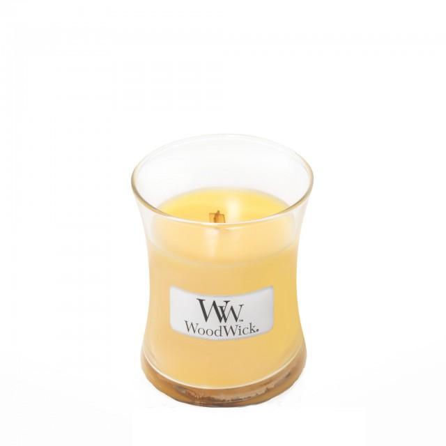 Lumanare Parfumata Borcan Mic Seaside Mimosa, WoodWick®