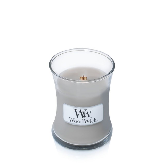 Lumanare Parfumata Borcan Mic Fireside, WoodWick®