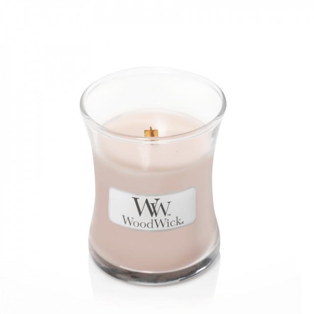 Lumanare Parfumata Borcan Mic Sea Salt Vanilla, WoodWick®