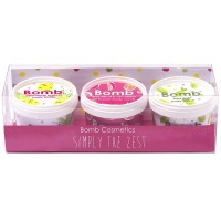 Set Trio Gift Simply The Zest, Bomb Cosmetics