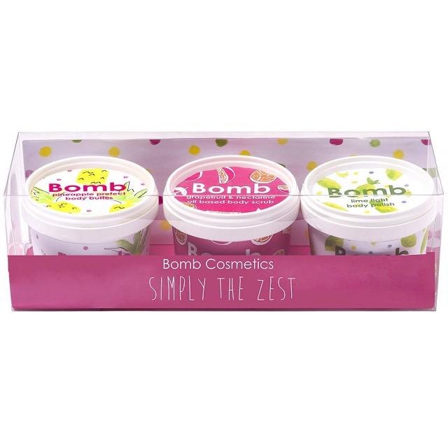 Set Trio Gift Simply The Zest, Bomb Cosmetics