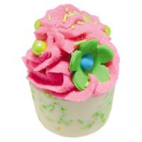 Sare de baie hidratanta Mallow Apple & Raspberry, Bomb Cosmetics 50g