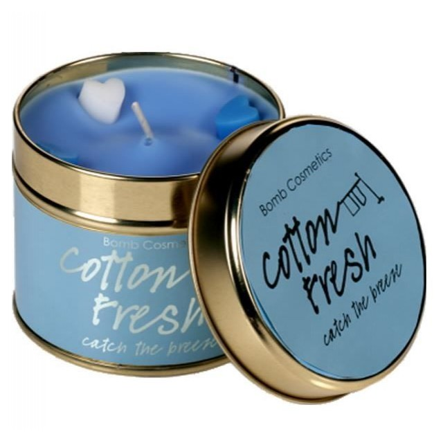 Lumanare parfumata Cotton Fresh, Bomb Cosmetics