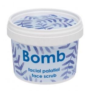 Exfoliant pentru fata, natural, vegan, Facial Palatial, Bomb Cosmetics, 110ml