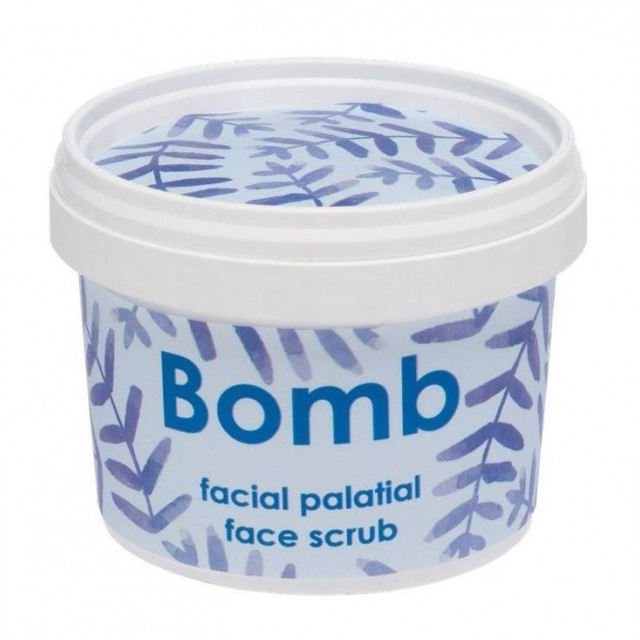 Exfoliant pentru fata, natural, vegan, Facial Palatial, Bomb Cosmetics, 110ml