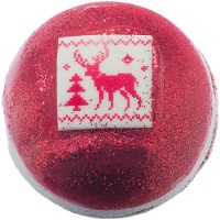 Sare de baie efervescenta Christmas Festive Fair Isle, Bomb Cosmetics 160g