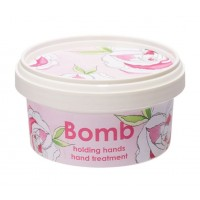 Crema tratament pentru maini Holding Hands, Bomb Cosmetics, 200ml