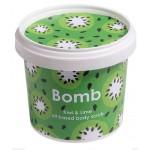 Exfoliant Vegan pentru corp Kiwi & Lime, Bomb Cosmetics, 365ml