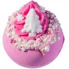 Sare de baie efervescenta Pink Christmas, Bomb Cosmetics 160g