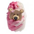 Sare de baie hidratanta Mallow Teddy Bears Picnic, Bomb Cosmetics 50g