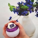 Bila efervescenta de baie V for Violet, Bomb Cosmetics 160g
