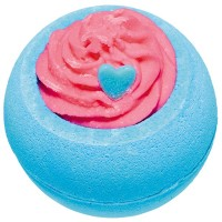 Sare de baie efervescenta Blueberry Funday, Bomb Cosmetics 160g