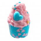 Sare de baie hidratanta Mallow Candy Heart, Bomb Cosmetics 50g