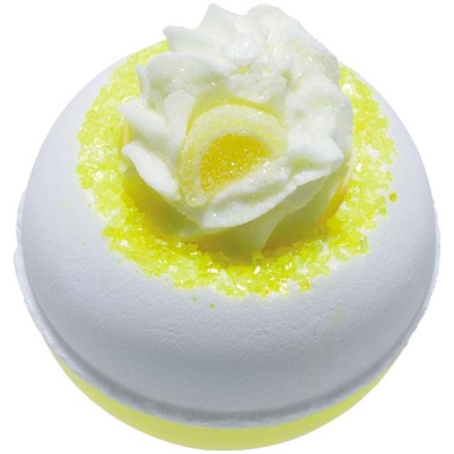 Bila efervescenta de baie Lemon Da Vida Loca, Bomb Cosmetics 160g