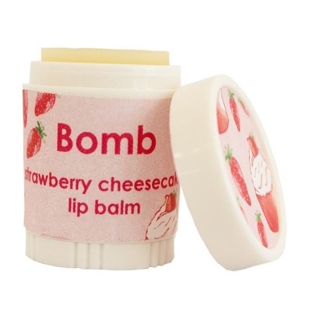Balsam de buze Strawberry Cheesecake 4.5g, Bomb Cosmetics