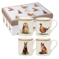 "Set 4 cani Alex Clark ""Wildlife Giftset"" 250ml, Churchill"