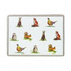 Placemats Alex Clark Wildlife - Set 6 piese, 29x21 cm, Churchill