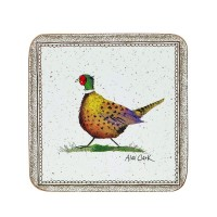 Coasters Alex Clark Wildlife - Set 6 piese, 10x10 cm, Churchill
