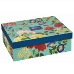 """Set 4 cani din portelan """"Blooms & Butterflies"""" 250ml in cutie cadou, Churchill"""