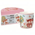 "Cana Bramble & Rocket Giftbox ""To the WORLD you are a MOTHER but to me YOU are the world"" 360ml, Churchill"