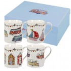 "Set 4 cani The Caravan Trail ""Festival Giftset"" 250ml, Churchill"