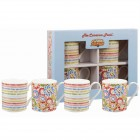 "Set 4 cani The Caravan Trail ""Harbour Sands Giftset"" 250ml, Churchill"