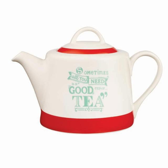 """Ceainic din portelan Chasing Rainbows """"GOOD Cup Of TEA"""", Churchill"""