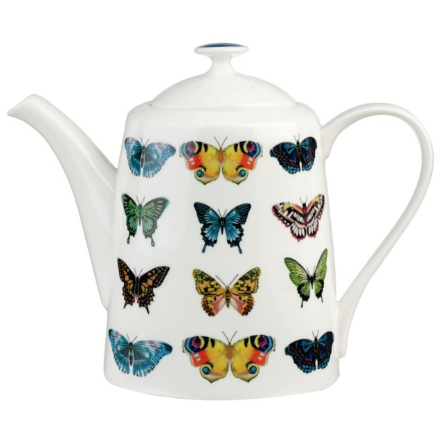 "Ceainic din portelan fin brand Harlequin ""Papilio"", Churchill"