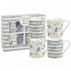 "Set 4 cani Julie Dodsworth ""Time to Nest Giftset"" 250ml, Churchill"