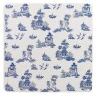 Set de 4 piese Blue Willow Placemats 29x29 cm, Churchill